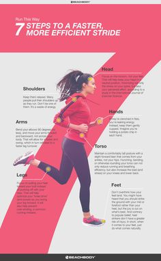 How to Improve Your Running Form // fitness // run // tips // cardio // running technique // marathon training // half marathon // 5K // 10K // running for beginners // Beachbody // BeachbodyBlog.com