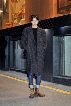 Joo Woo Jae - Mens Street Style