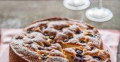 Ricottacake met blauwe bessen - Rutger bakt (uit De Bakbijbel) | recepten | Pinterest | Met, Ricotta and Ricotta Cake
