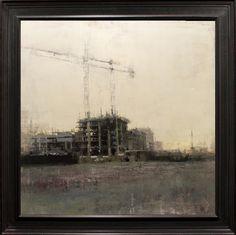 'The Building of Mission Bay'   by Jeremy Mann