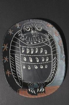 Pablo Picasso: Hibou mat, 1955