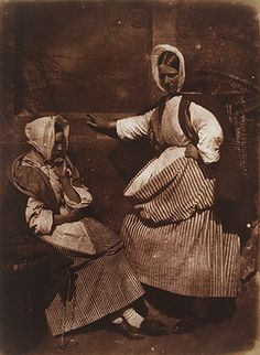 [Newhaven Fishwives], ca. 1845  David Octavius Hill (Scottish, 1802–1870); Robert Adamson (Scottish, 1821–1848)  Salted paper print from paper negative