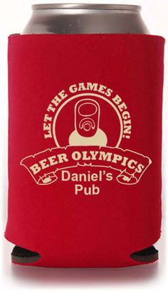 Customizable Beer Koozie Designs #koozies