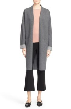 Theory 'Armelle N Evian' Stretch Sweater Coat available at #Nordstrom
