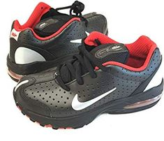 bbf58fe8002f Nike Air Max 2003 (PS) Trainers Shoes 306649 Black Silver Red Boy s Kids  Youth