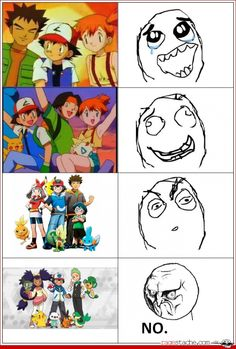 How I feel EVERY time I babysit little boys and they watch Pokemon...