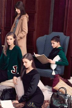 Preppy Fashion for Fall 2012 - Prep Style Cardigans, Letterman Jackets, and More - ELLE