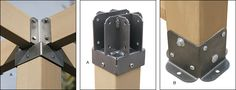 #Pergola #Brackets - #Gardening Top Pergola Bracket: $21.50 Bottom Pergola Bracket: $7.25