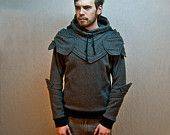 Knight Armored Hoodie  I WANT SO BAD!!!