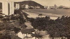 Novo Milênio: S.Vicente de Antigamente - Praia do Gonzaguinha em 1950-60