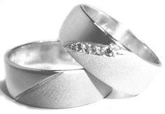 anillos de matrimonio de plata - Buscar con Google