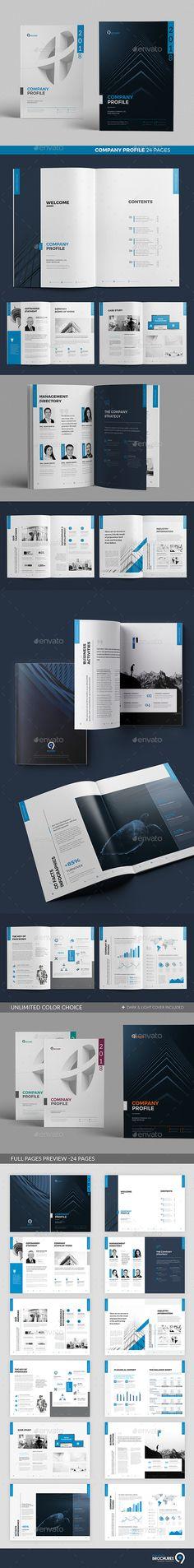 Company Profile #brochure #corporate • Download ➝ https://graphicriver.net/item/company-profile/21350519?ref=pxcr