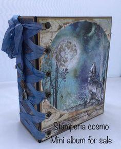 Mini Photo Albums, Mini Albums, Mini Scrapbook Albums, Atc, Art Journals, Cosmos, Craft Supplies, Collage, Crafts