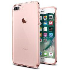 Spigen Ultra Hybrid, Back Cover Mobile Case, for iPhone 7 Plus, Rose Crystal