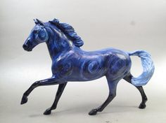 Starry Night custom Breyer horse