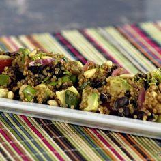 Southwestern Quinoa Salad w/ Avocado & Black Beans