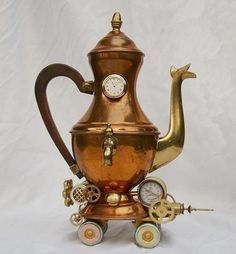 Steampunk teapot, by Paul Stewart