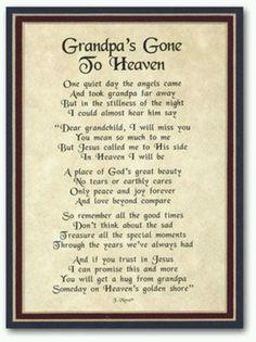 Grandpa's Gone to Heaven
