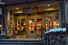 Fireside Pizza - Squaw Village: great for apres dinner