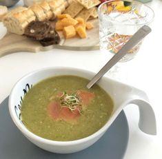 Broccolisoep met zalm, makkelijk recept en gezond