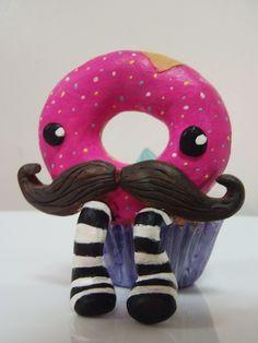 Donut ya like my Mustache by Ashleigh Burbidge