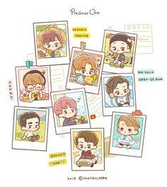 <credits to owner> Exo Cartoon, Cartoon Fan, Cartoon Pics, Exo Anime, Anime Chibi, Kpop Exo, Daily Exo, Exo Stickers, Exo Fan Art