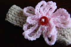 DIY Crochet DIY Yarn: DIY  Crochet Baby Headband
