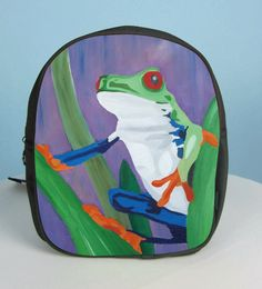 91e01a3b0649 Frog Purse Backpack by Salvador Kitti On Sale by SalvadorKitti