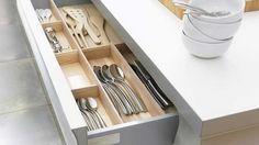 Smart spaces for kitchen storage