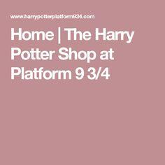Home | The Harry Potter Shop at Platform 9 3/4