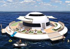 #ufo #unidentifiedfloatingobject #floatinghouse #houseboat #spaceship #spacehouse #spaceyacht #yacht #yachts #yachting #boat #boats #boating #design #madeinitaly #superyacht #jetlife #yachtlifestyle #watercraft #ship #future #sea #yachtlife