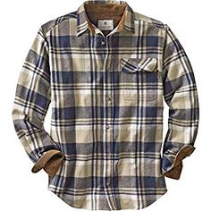 Legendary Whitetails Mens Buck Camp Flannel Shirt, Shale Plaid, X-Large Tall Shirt Jacket, Shirt Outfit, Man Outfit, Mens Flannel Shirt, Camo Shirts, Twill Shirt, Men's Shirts, White Tail, Outfits