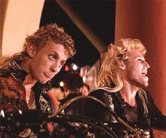 Lost Boys Marco & Paul (Alex Winter and Brooke McCarter)