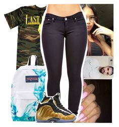 """""""Doing """"tbh's"""" so like this set for one"""" by theyknowtyy ❤ liked on Polyvore featuring JanSport"""