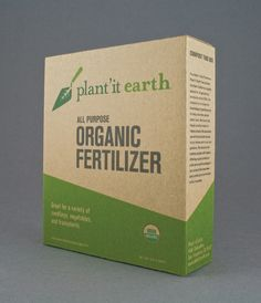 Logo/identity design and eco-friendly packaging system for a Plant'it Earth, a gardening supply store in San Francisco. Each piece is made from recycled materials and uses no adhesives for safe, non-toxic composting.