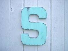 Shabby Chic Rustic Wooden Letter S Wall Art Cabin Cottage Country Decor on Etsy, $25.00