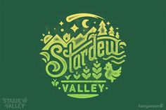This official Stardew Valley t-shirt is the perfect attire for work or play, or even play that involves a lot of work.