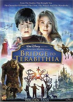 Bridge to Terabithia, awww. Josh Hutcherson was cute in this, not a huge fan now. And Annasophia Robb is still adorable!!