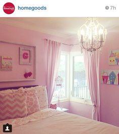 Gotta love HomeGoods! Perfect decor for a little girl's room!