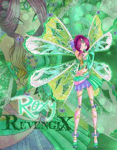 Roxy Revengix by Aryl-Phoenix on DeviantArt Bloom Winx Club, Club Design, Magical Girl, Dark Side, Roxy, Manga Anime, Fairy Tales, Fan Art, Deviantart