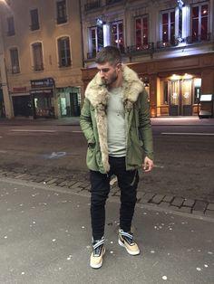 princeinjeans: Acne Uniform with Nicolas Lauer fur jacket - Nicolas Lauer c/o LANOIR