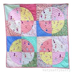 Playgrounds Baby Quilt