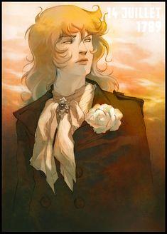 The rose of Versailles - Oscar by AlHambra.deviantart.com on @DeviantArt