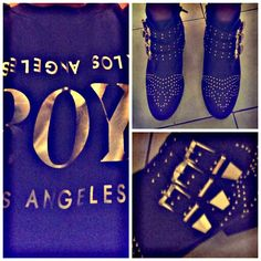 Had a blast in my #LABoy sweatshirt, denim shorts and boots today! #ootd #outfitoftheday #WWAD #fashion #style