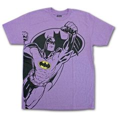 Another cool Super Hero T-Shirt at Thatsmyshirt.com - New Batman in Purple