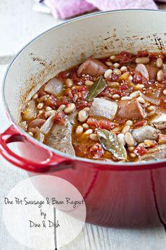 One Pot Sausage and Bean Ragout