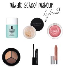 middle school makeup- high end