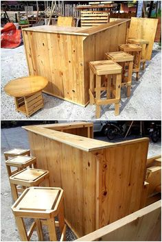 Our distinction is that we give priority to craft furniture that is of our prime domestic use. This pallet bar creates ease for you as well rustic environment. Have fun and cherish every moment with your family while sitting on this wonderful craft.  #bar #palletbar #pallets #woodpallet #palletfurniture #palletproject #palletideas #recycle #recycledpallet #reclaimed #repurposed #reused #restore #upcycle #diy #palletart #pallet #recycling #upcycling #refurnish #recycled #woodwork #woodworking