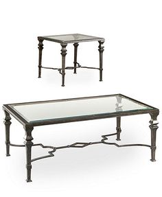 Novato Tables, 2-Piece Set (Cocktail Table and End Table)