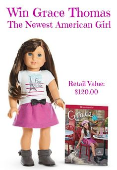Enter for a chance to win Grace Thomas: The Newest American Girl. Open to US Residents and Canada Residents. Ends 2/28